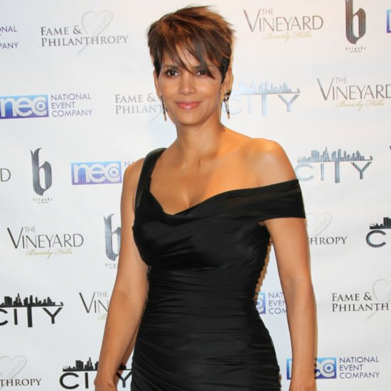 Halle Berry Breastfeeding