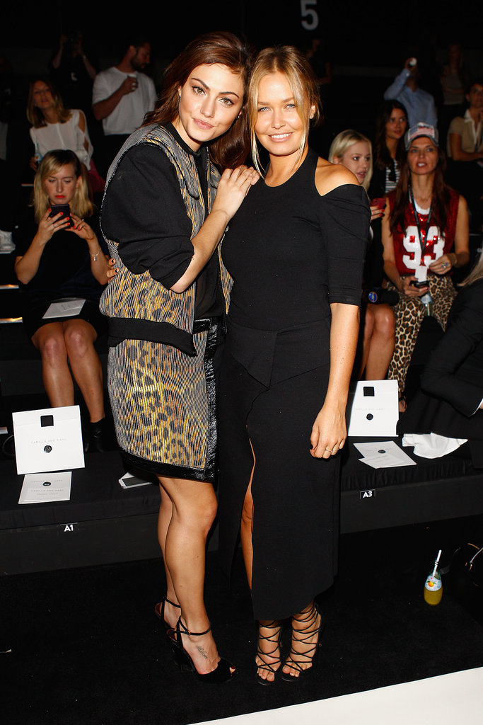 Phoebe Tonkin and Lara Bingle