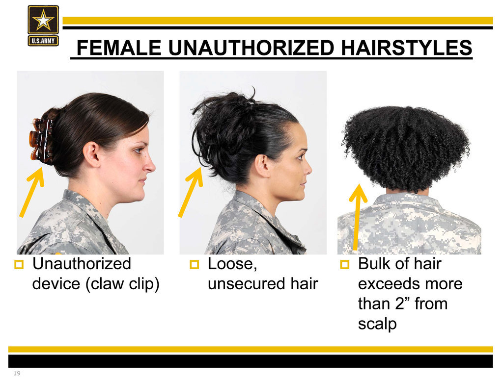 Update: Pentagon Reviewing New Army Regulations For Hair Discrimination