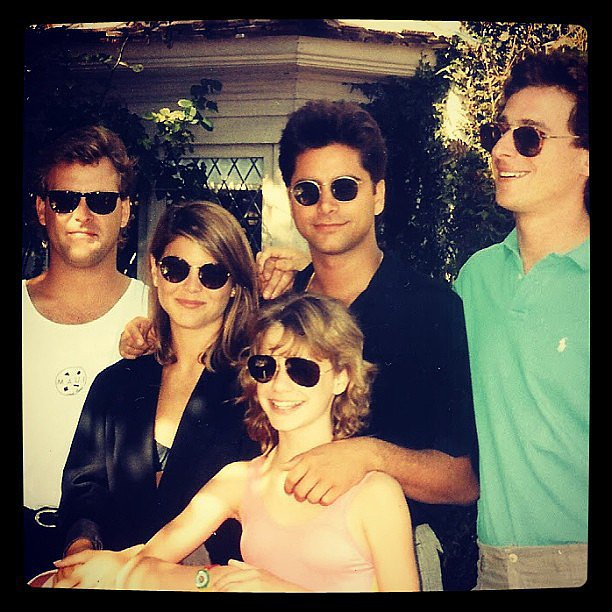 Plus some priceless pictures of the whole <b>Full House</b> gang.