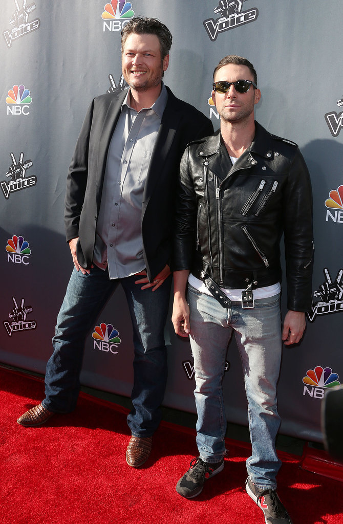It's All About Duos on the Voice Red Carpet!