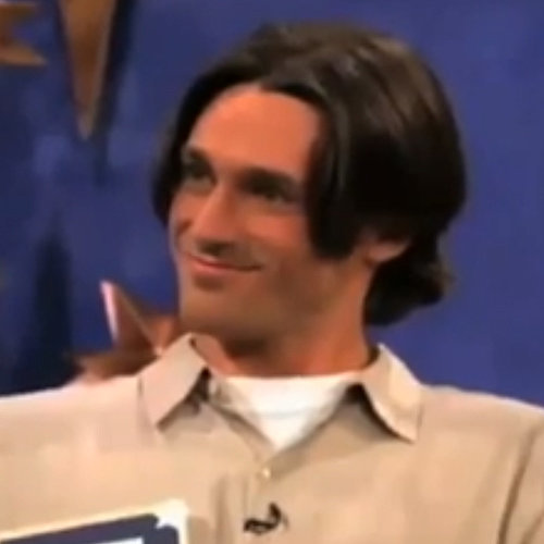 Jon Hamm on '90s Dating Show The Big Date | Video