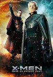 Michael Fassbender and Ian McKellen as young and old Magneto.