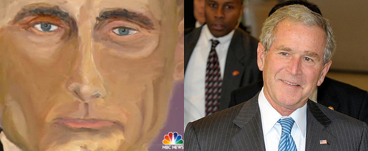 George W. Bush Has Been Busy Painting World Leaders