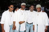 "Boyz II Men performed ""Water Runs Dry."""