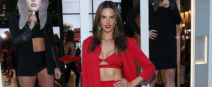 Alessandra Ambrosio Really Heated Up This Week's Style Set