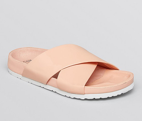 Jeffrey Campbell Blush Menorca Slides
