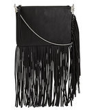 H&M Black Fringed Shoulder Bag