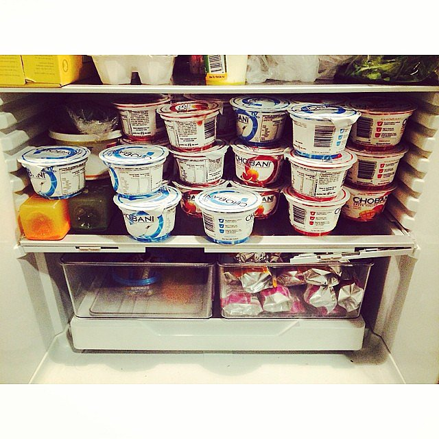 Hello Chobani delivery! Source: Instagram user popsugarau