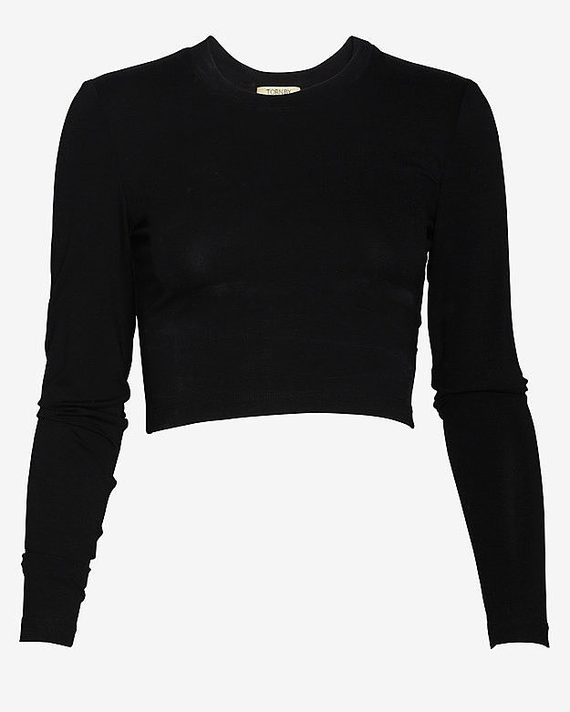 The Black Long-Sleeved Top