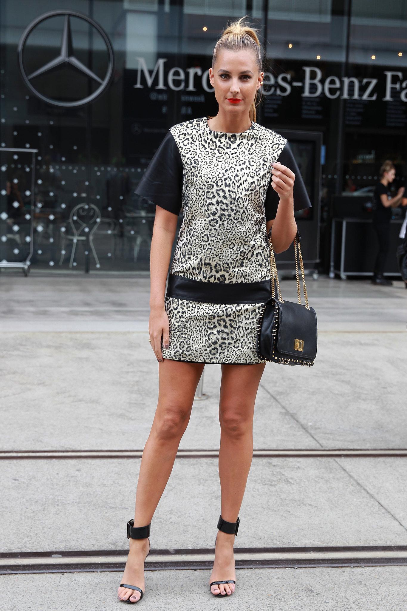 Street Style At Australia Fashion Week Popsugar Fashion