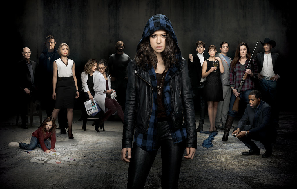 The Orphan Black cast. Source: BBC