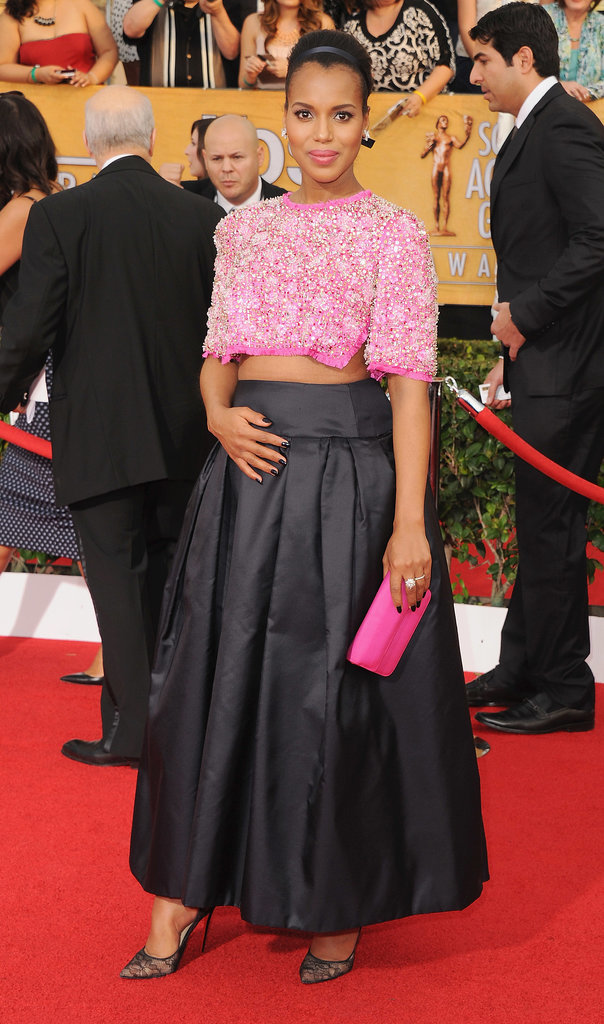 Kerry Washington at the SAG Awards in 2014