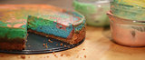 Tie-Dye Your Cheesecake For a Festive Easter Feast