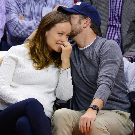 Cute Olivia Wilde Pregnant Pictures With Jason Sudeikis