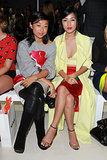 Margaret Zhang and Nicole Warne at MBFWA Day Four