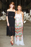Emma Birdsall and Prinnie Stevens at MBFWA Day Five