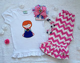 Anna Shirt and Capri Set