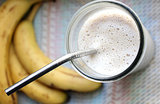 Morning Workout Protein Smoothie With Toast