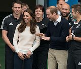 Prince William and Kate Middleton Mix Duty With Pleasure