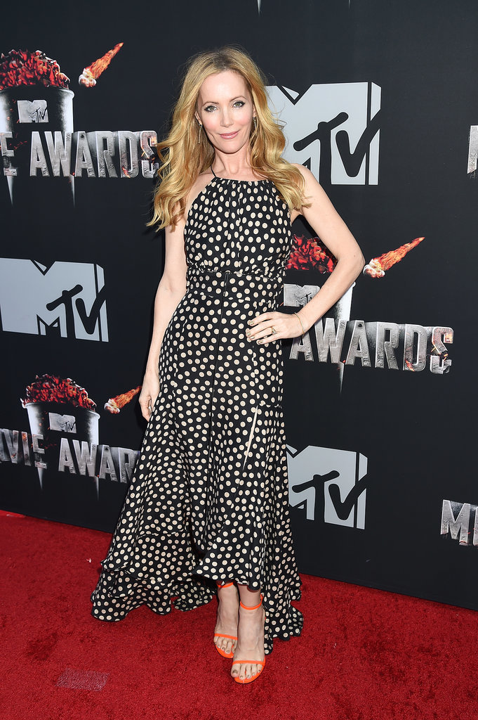 Leslie Mann at the 2014 MTV Movie Awards