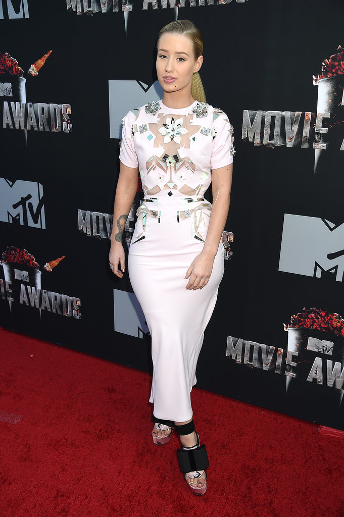 Iggy Azalea at the 2014 MTV Movie Awards
