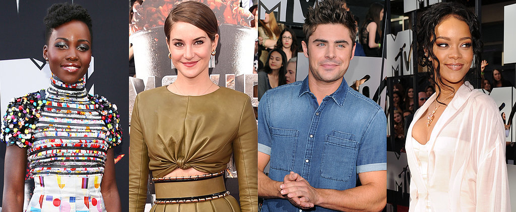 Hollywood Hits the MTV Movie Awards Red Carpet
