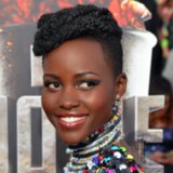 Lupita Nyong'o Hair and Makeup at MTV Movie Awards 2014