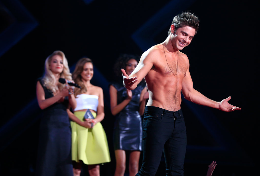 Here's All the Shirtless Zac Efron You Could Possibly Want