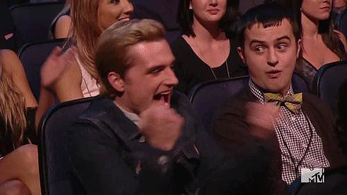 When Josh Hutcherson Was Super Stoked About Winning