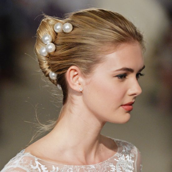 Wedding Hair and Makeup at Bridal Fashion Week Spring 2015