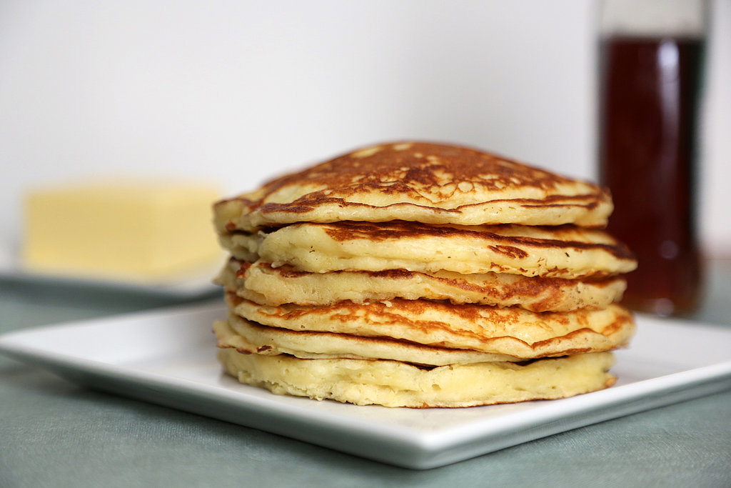 to typical American breakfasts, there's one front-runner: pancakes ...