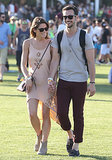 Ashley Greene laughed with her boyfriend, Paul Khoury.