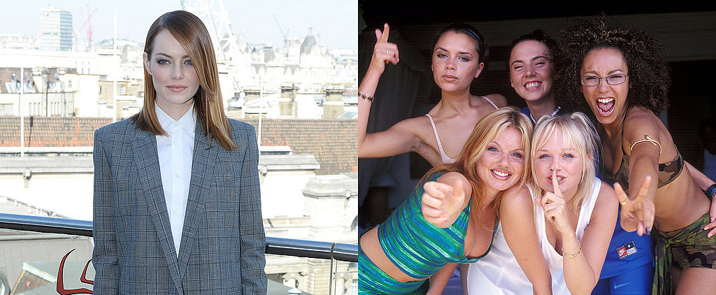 Is Emma Stone Promoting Spider-Man or Her Spice Girls Obsession?