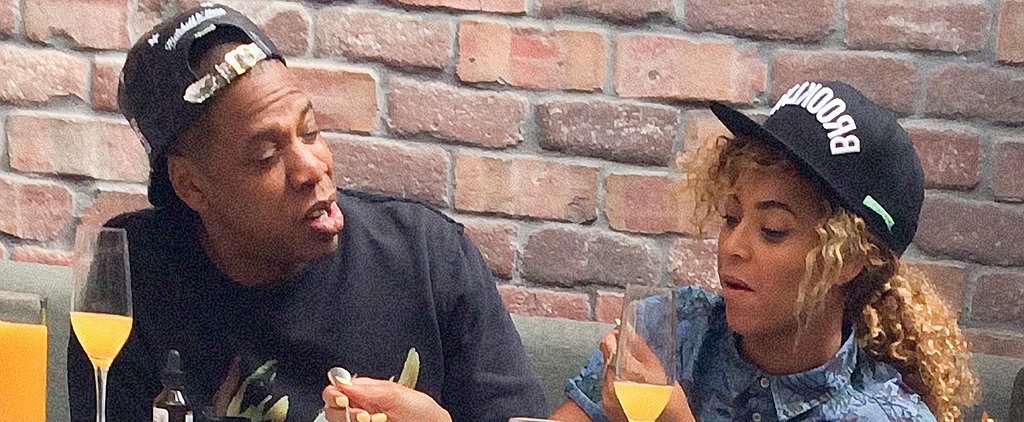 Beyoncé and Jay Z Share a Boozy Brunch
