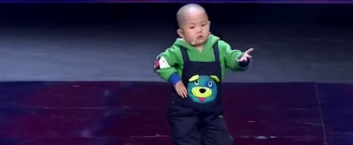 This 3-Year-Old Boy Dances His Way Right Into Our Hearts