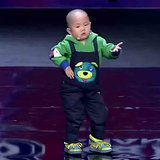 3-Year-Old Chinese Boy Dancing | Video