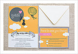 Fly Away With Us Wedding Invitation