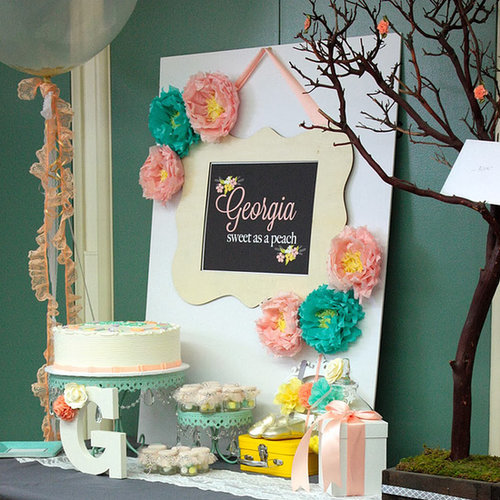 A Georgia Peach Baby Shower