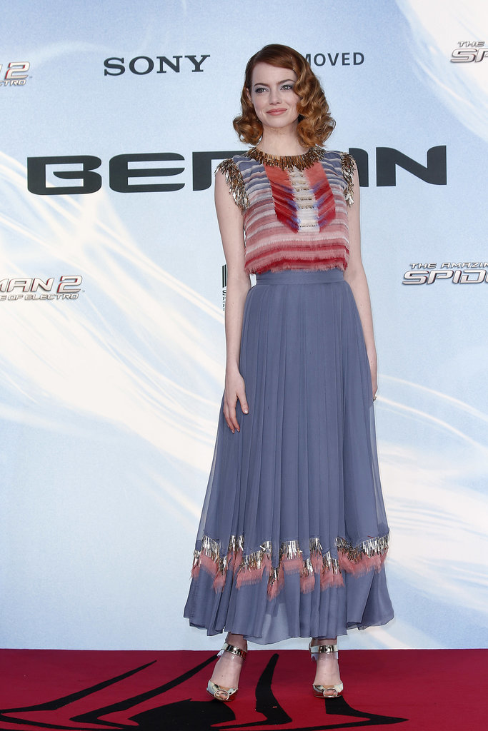 Emma Stone at the Berlin Premiere of The Amazing Spider-Man 2