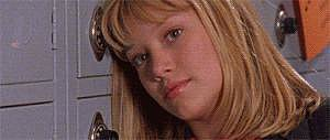 Lizzie's so young and cute — Duff was only 13 when the show started