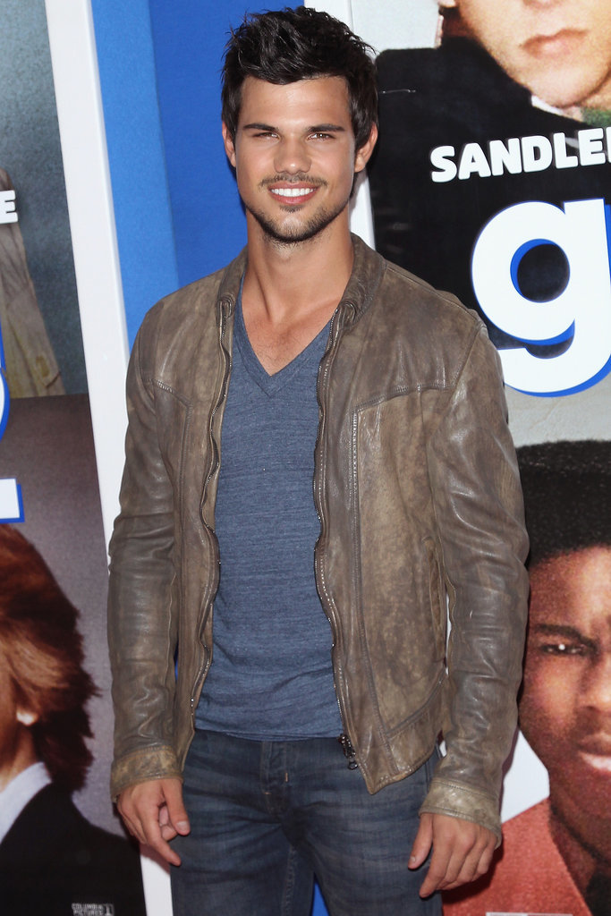 Taylor Lautner joined Run the Tide as a man protecting his younger brother from their parents.
