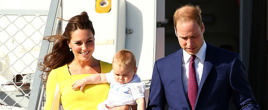 Prince William, Kate Middleton and Prince George Have Landed in Sydney!