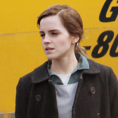 Emma Watson on the Set of Regression | Pictures