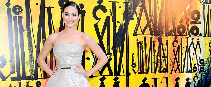 Emmy Rossum's Outfit Was Really All About the Shoes