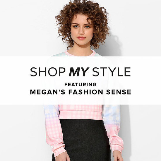 Megan's Fashion Sense Gets Girlie With Her Pastel Pairings