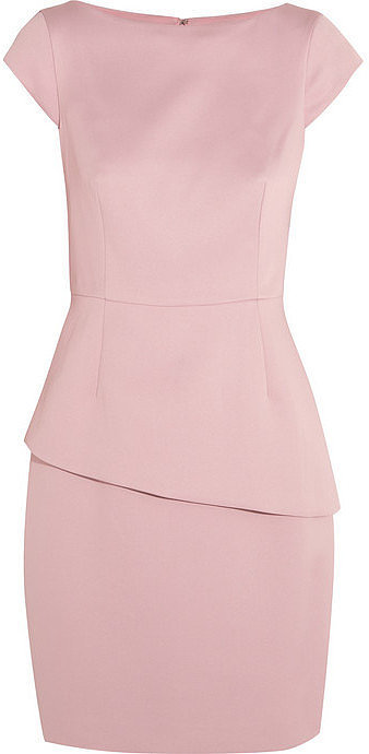 Halston Heritage Peplum Dress