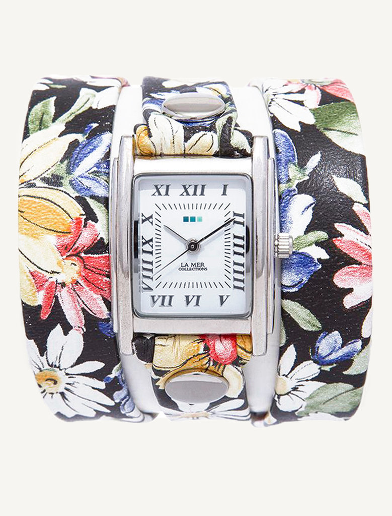 La Mer Limited Edition Black Magnolia Wrap Watch ($92)