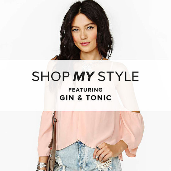 Gin & Tonic Pairs Peach and Gray Hues This Season