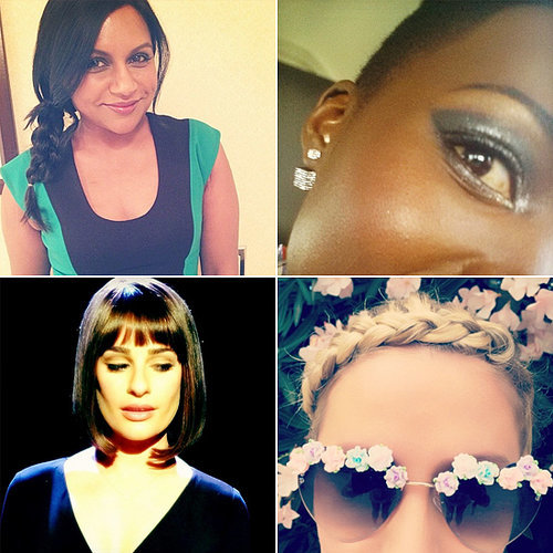 Celebrity Beauty Instagrams | April 16, 2014